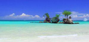 sand of Boracay