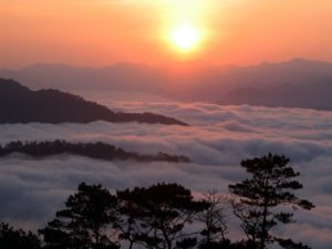 sunrise at Sagada