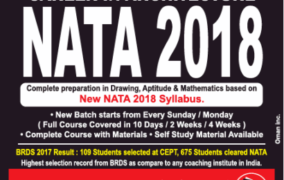 Best Coaching Institute for NATA Classes in Pune