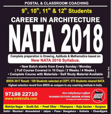 Best Coaching Institute for NATA Classes in Pune